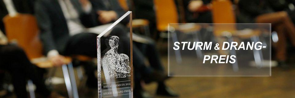 Sturm & Drang Prize 2018