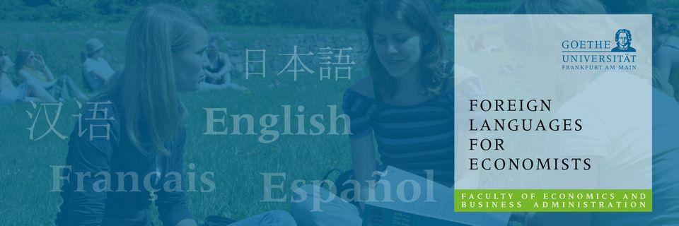 Foreign Languages for Economists